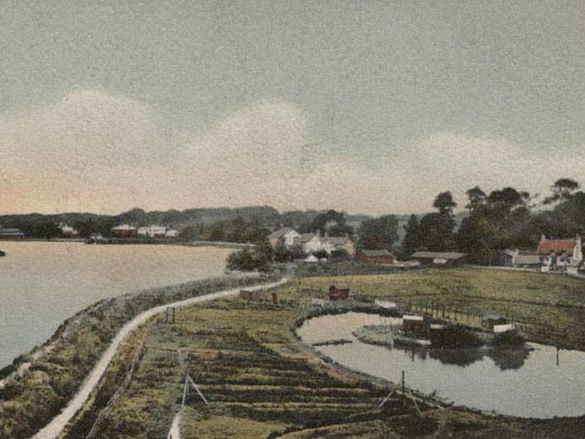 1909 Lymington Riverbank