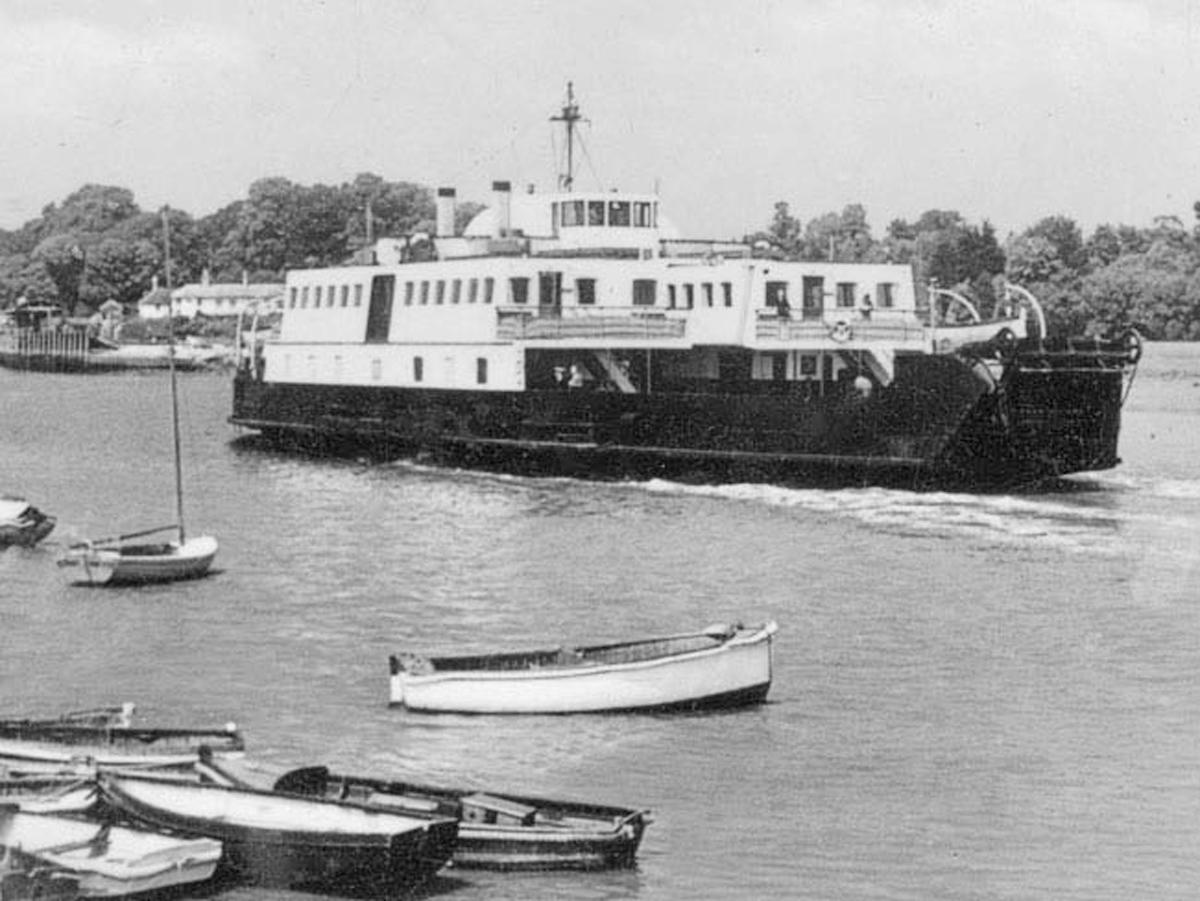 1950s Ferry Farringford