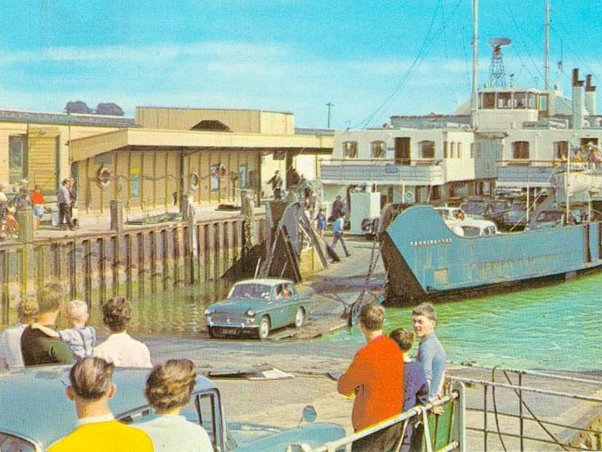 1960 Lymington Ferry