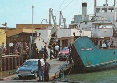 1970 Lymington Ferry