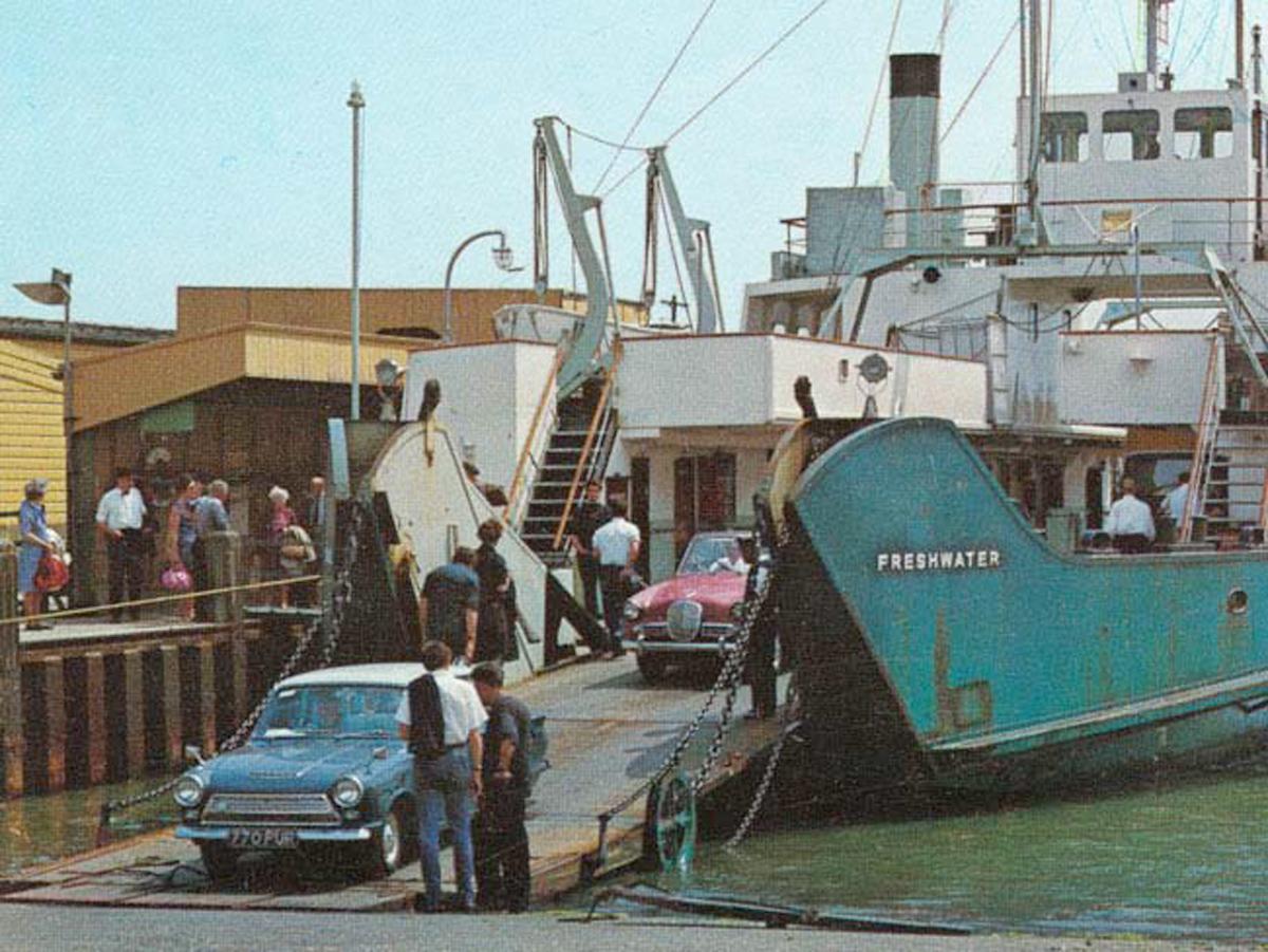 1970 Lymington Ferry