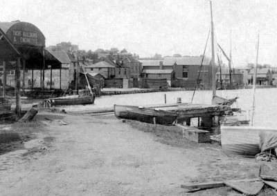1907 Lymington Shipyard