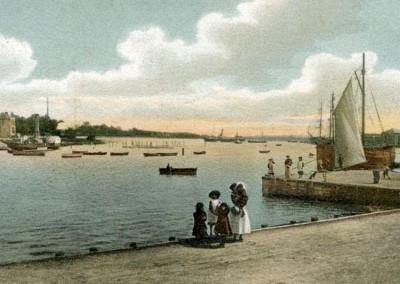1908 Lymington Quay