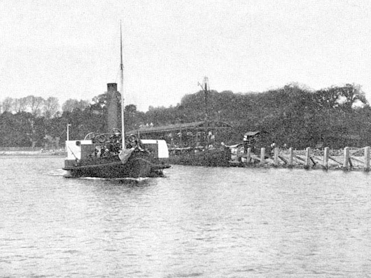 1920s Ferry and Pier