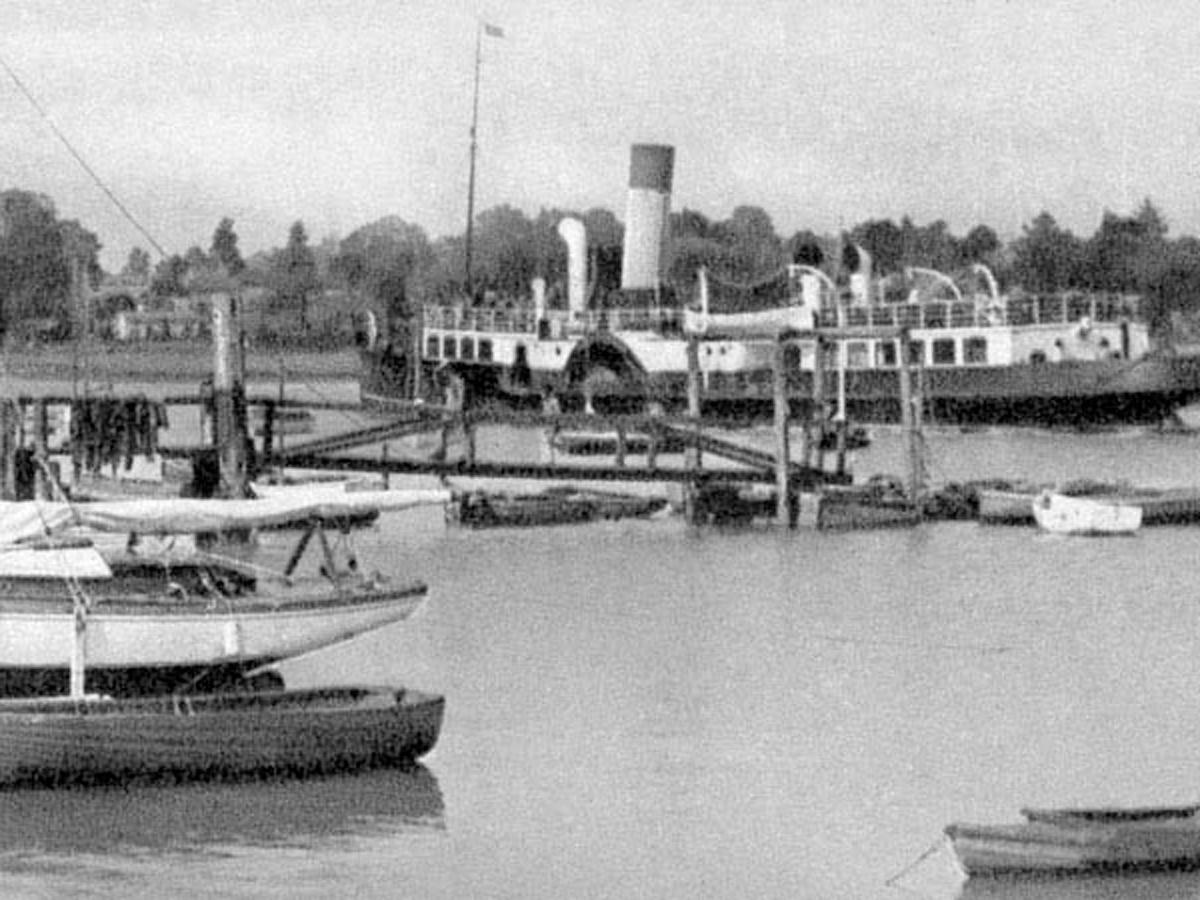 1920s Lymington Ferry