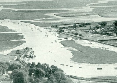 1930s Lymington River