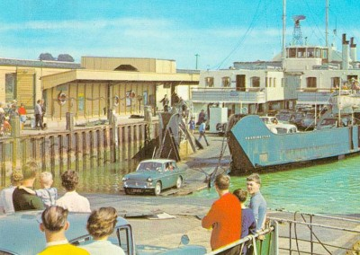 1960 Lymington Ferry