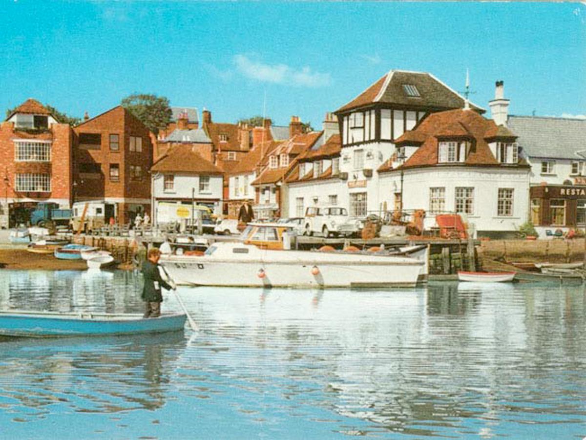 1970 Lymington Quay